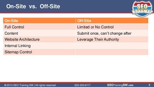 On-site SEO with WordPress slideshare - 웹