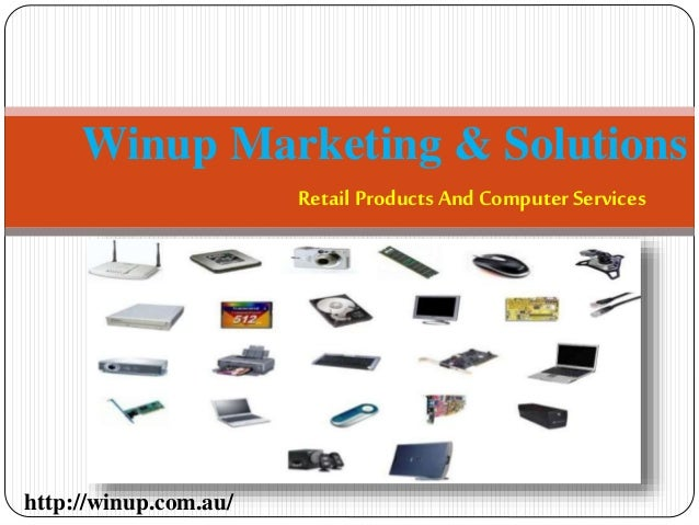 Retail Products And Computer Services Winup Marketing & Solutions http://winup.com.au/