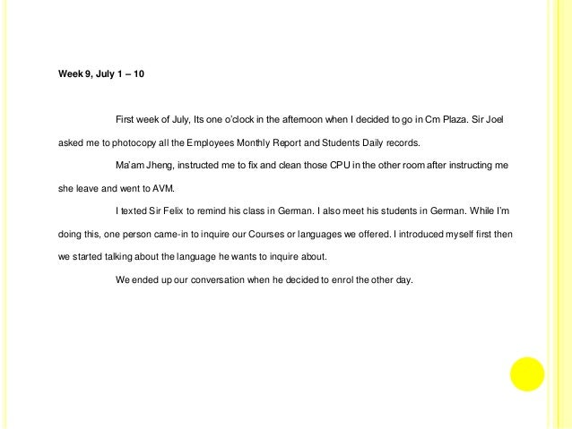 myself essay in german language