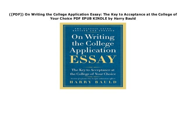 Professionally writing college admissions essay bauld