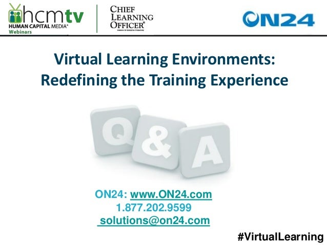 the virtual learning environment education essay Common aspects of a quality experience in the online learning environment  for  institutional policy and governance for online learning, are a useful summary of.