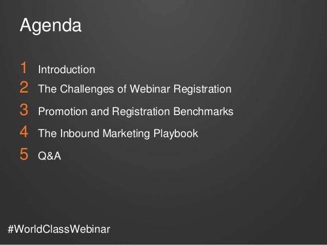 How to Promote a World-Class Webinar - HubSpot & ON24 Slide 2