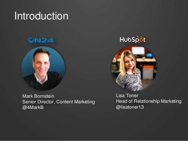 How to Promote a World-Class Webinar - HubSpot & ON24 Slide 3