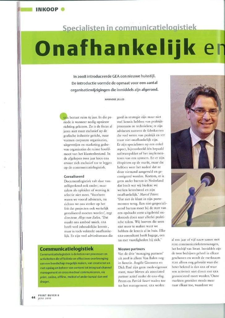 Onafhankelijk En Ketenbreed   Artikel Printbuyer Juni 2010