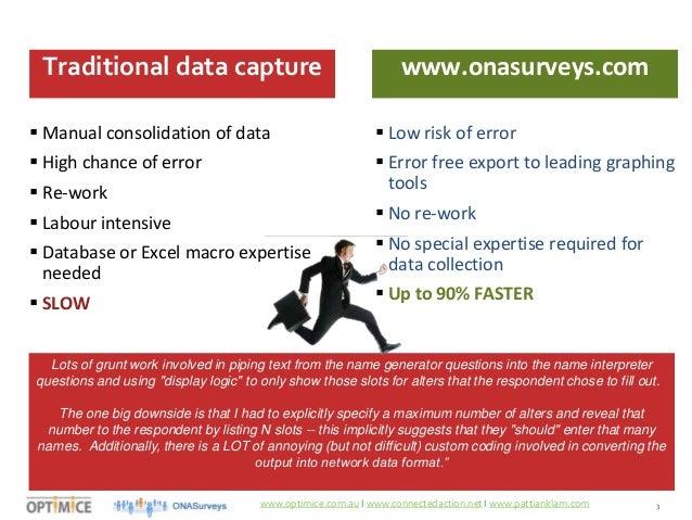 Organizational Network Analysis (ONA) - Practitioner Course Module 2 …