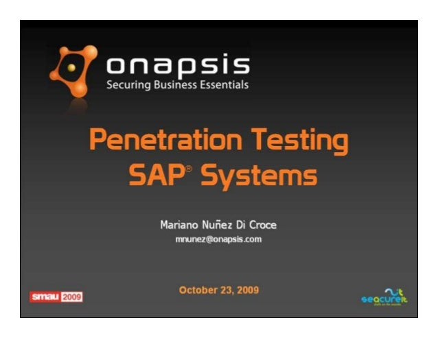 It systems penetration testing