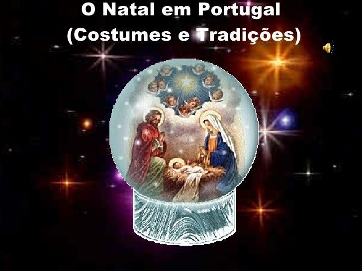 O Natal em Portugal (Costumes e Tradições)