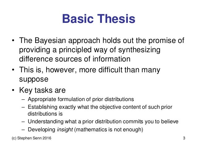 Approximate bayesian computation thesis