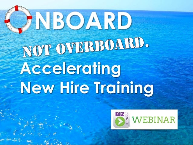 Accelerating New Hire Training