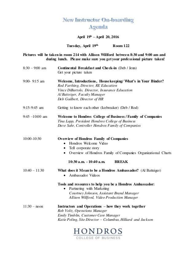 onboarding agenda 4 19 2016