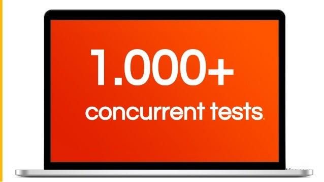 1.000+ concurrent tests.