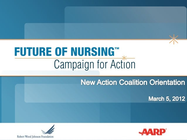 Susan Hassmiller, PhD, RN, FAANSenior Advisor for Nursing, RobertWood Johnson Foundation & Director,Future of Nursing: Cam...