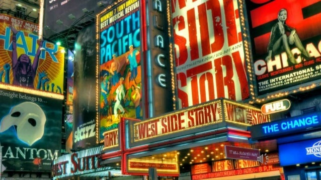 West Side Story Staged by Upper Darby School, Upper Darby, PA, USA  They say the neon lights are bright on Broadway