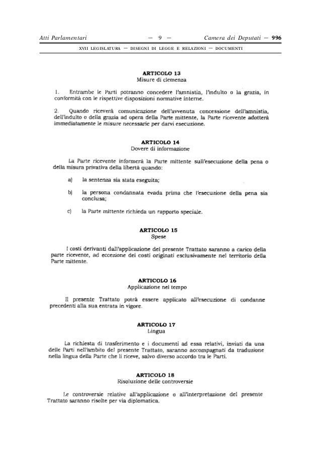 On bueno iniziativa 996 for Atti parlamentari camera