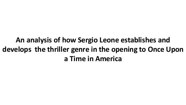 once upon a time in america analysis