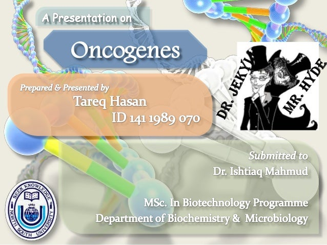 """1 J. Michael Bishop Harold Varmus Winners of Nobel Prize 1989 in Medicine or Physiology for """"The Discovery of the"""