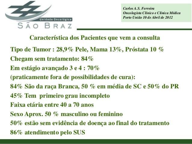 Carlos A.S. Ferreira                                       Oncologista Clínico e Clínica Médica                           ...