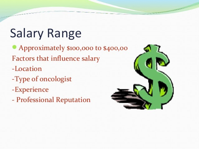 Oncologist health presentation block3 – Oncologist Description