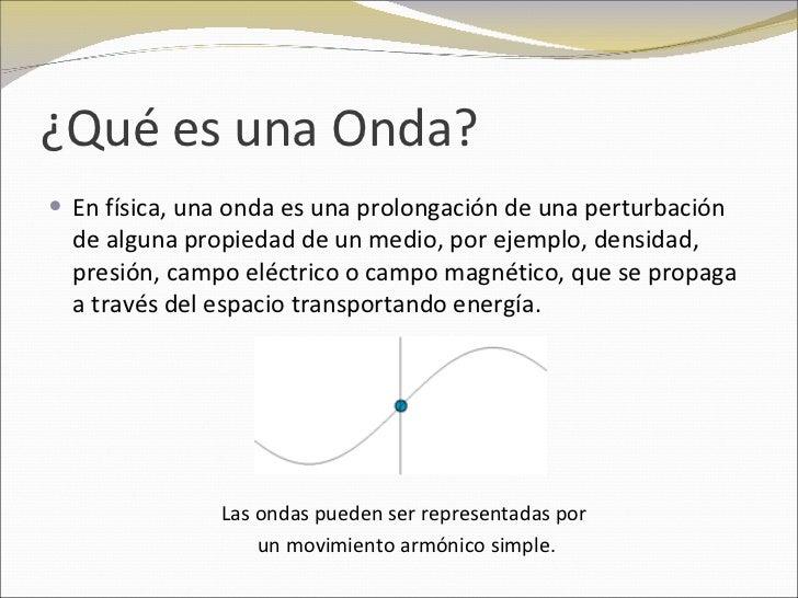 Trabajos de fisica: Ondas Slide 2