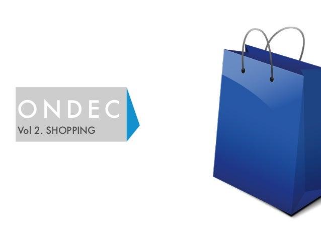 ONDEC  Vol 2. SHOPPING