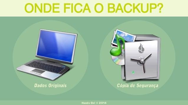 ONDE FICA O BACKUP? Hands On! © 2014