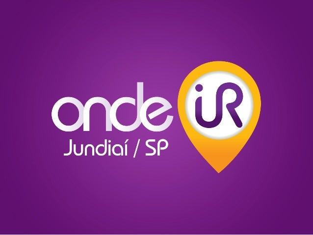 O aplicativo Onde Ir é um guia mobile comercial e cultural da cidade!