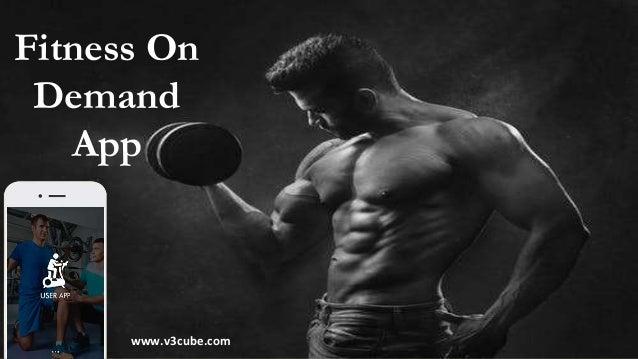 Fitness On Demand App www.v3cube.com