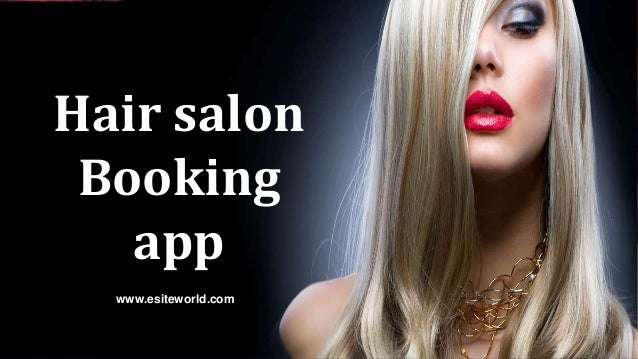 Hair salon Booking app www.esiteworld.com
