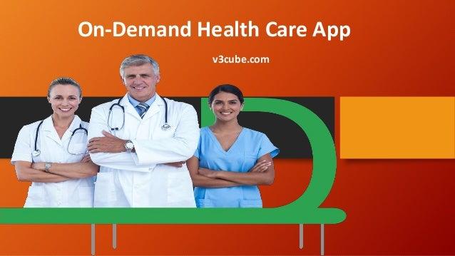 On-Demand Health Care App v3cube.com