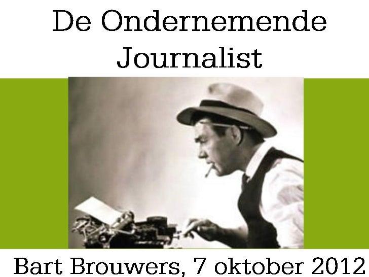 Ondernemerschap in de     journalistiek