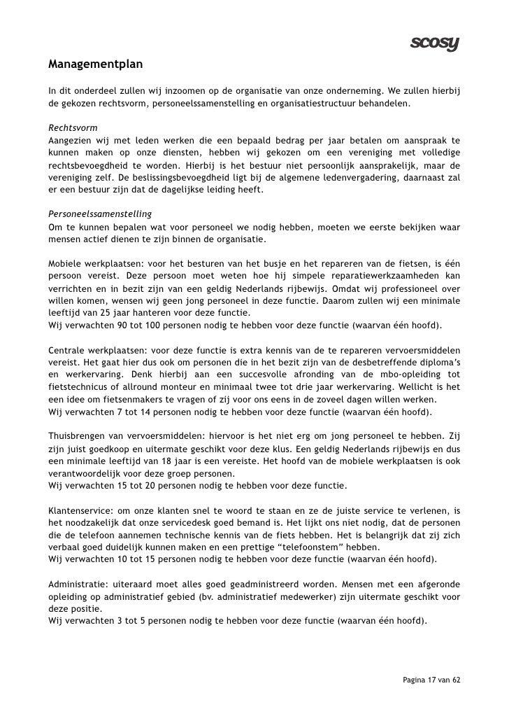 inleiding ondernemingsplan voorbeeld Beste ondernemingsplan Nyenrode 2009! inleiding ondernemingsplan voorbeeld