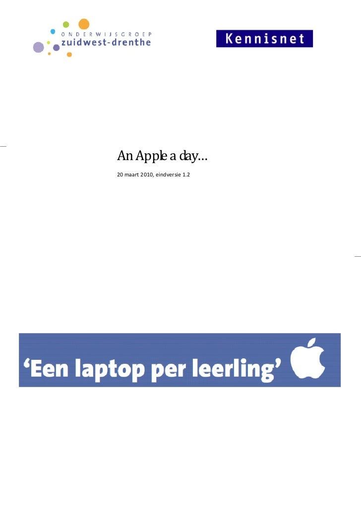 An Apple a day…20 maart 2010, eindversie 1.2