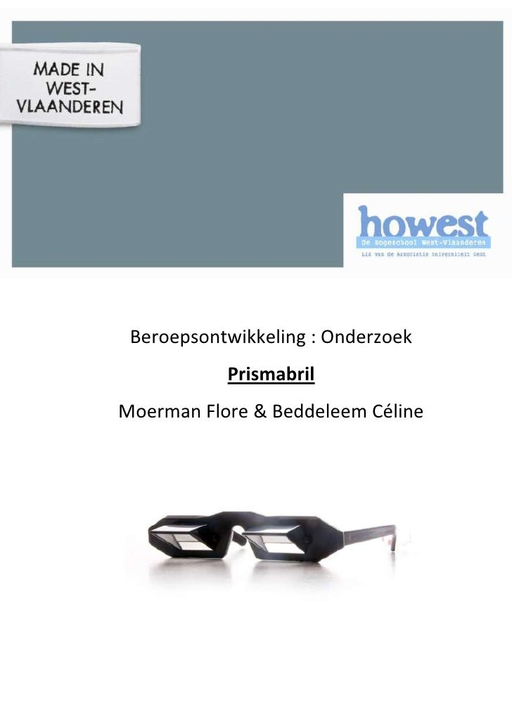 Onderzoek prismabril