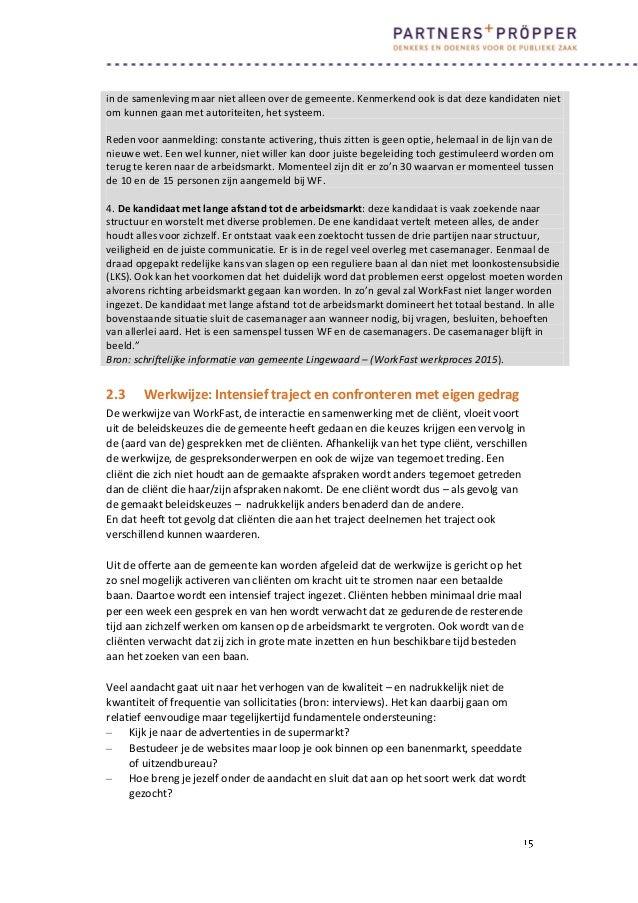 voorbeeld sollicitatiebrief klantmanager Onderzoek re integratie in lingewaard   traject snel aan de slag/ Wor… voorbeeld sollicitatiebrief klantmanager