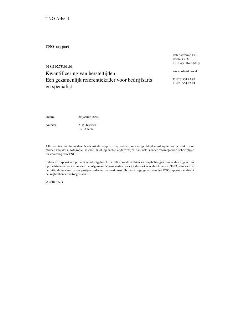TNO ArbeidTNO-rapport                                                                                              Polaris...