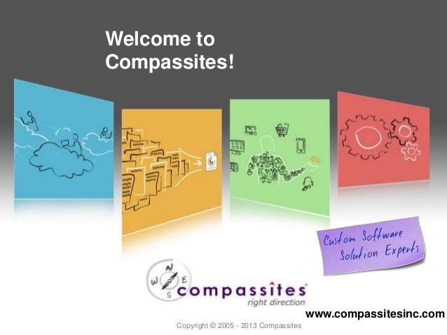 Copyright © 2012 Welcome to Compassites! www.compassitesinc.com Copyright © 2005 - 2013 Compassites