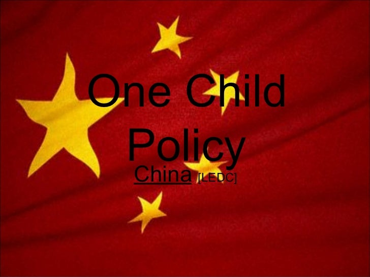 chinas one child policy and the China has decided to end its longstanding one-child policy and allow all couples to have two children a decades-old government policy in china that limited many.
