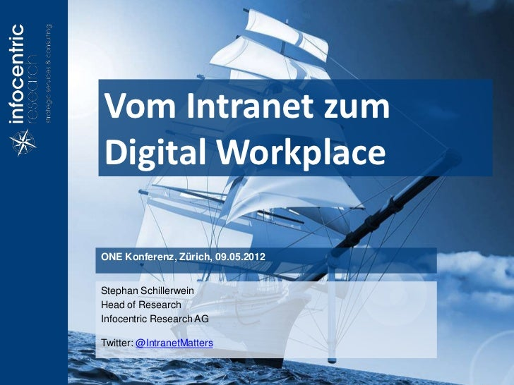 Vom Intranet zum                                                              Digital WorkplacePage 1 - The Digital Workpl...