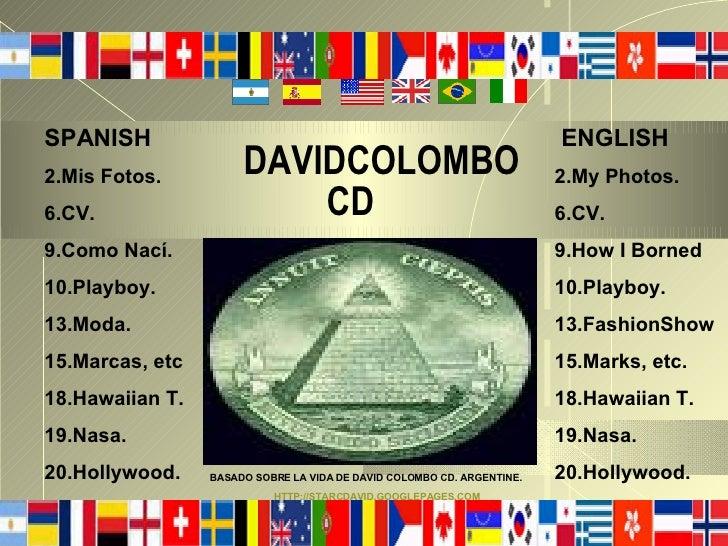 SPANISH                                                                 ENGLISH                       DAVIDCOLOMBO 2.Mis F...