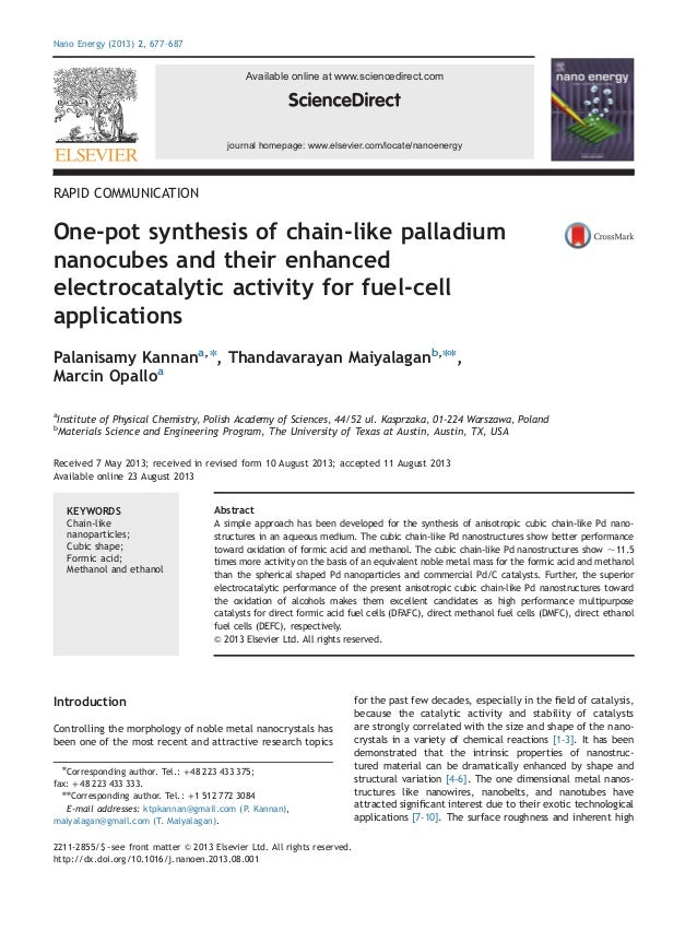 Nano Energy (2013) 2, 677–687  Available online at www.sciencedirect.com  journal homepage: www.elsevier.com/locate/nanoen...