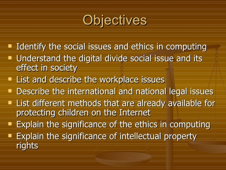 list of moral ethical issue in the philippines society The words moral and ethics (and cognates) also, moral theories provide the framework upon which we think and discuss in a reasoned way, and so evaluate, specific moral issues (for governing society.