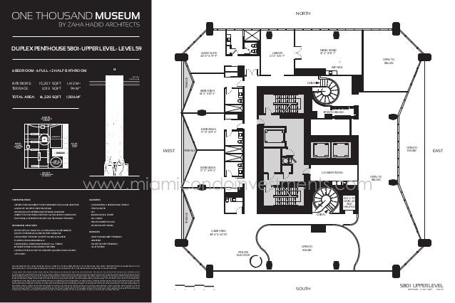 One Thousands Museum Floor Plans