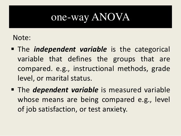 Objectives (ips chapter 12. 1) inference for one-way anova.