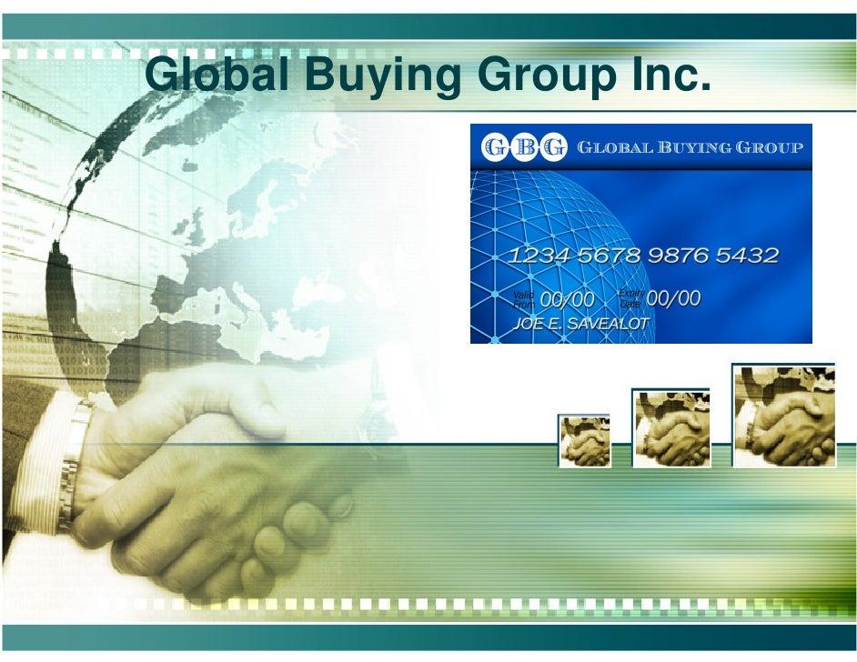 Global Buying Group Inc.