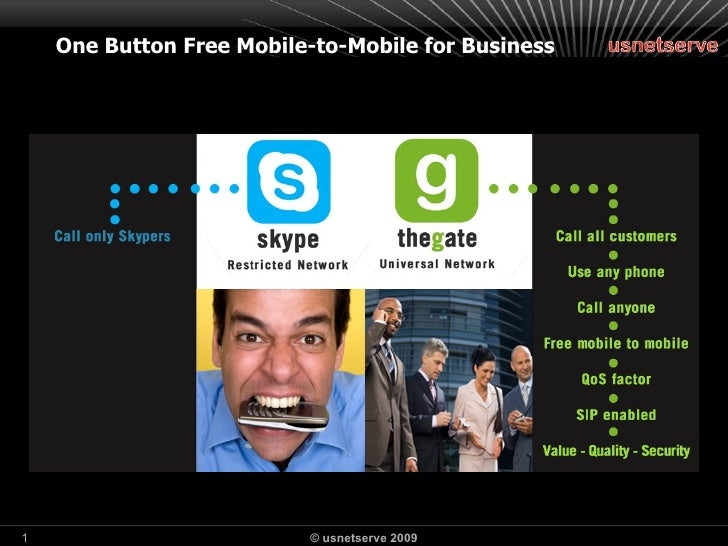 One Button Free Mobile-to-Mobile for Business