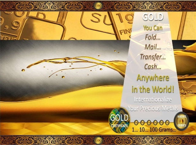What if you could…                     Have more Gold purchasing                     power                     Instantly t...