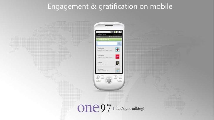One97 Corporate Engagement & gratification on mobile