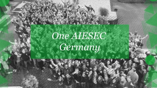 One AIESEC Germany