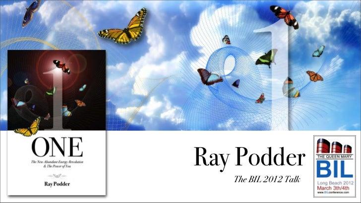 Ray Podder   The BIL 2012 Talk