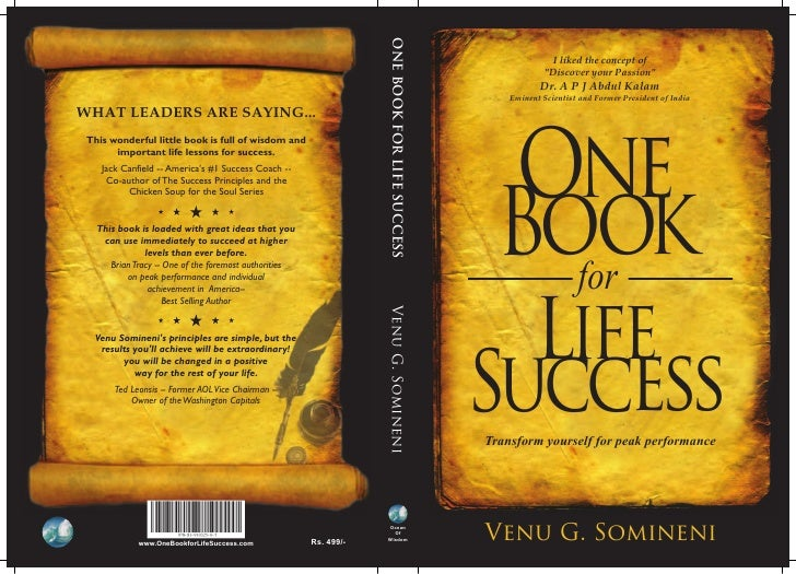 One Book For Life Success